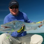 """Ted Margo with a 47"""" cuda on FLY!"""