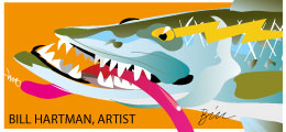 Bill Hartman, Artist Key West Florida Fishing Art